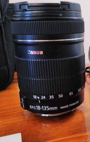 Lente Canon Efs 18-135 Mm