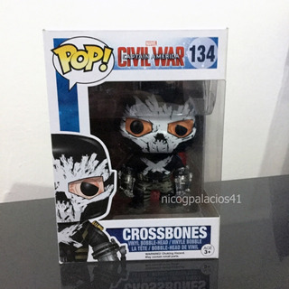 Funko Pop Crossbones #134 Vaulted- Capitan America Civil War