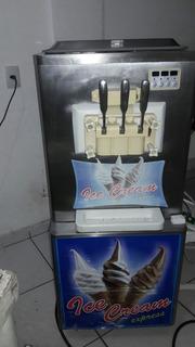 Vendo Maquina De Sorvete Expresso Ice Cream .