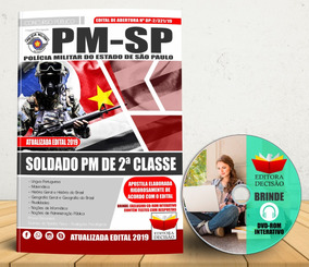 Apostila 2019 Lançamento Pm-sp - Soldado Pm 2ª Classe