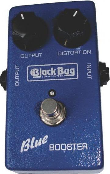 Pedal Simulador De Valvulados Blue Tbb Booster Black Bug