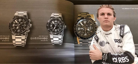 Vendo Oris Williams F1 Team Chronograph Day Data