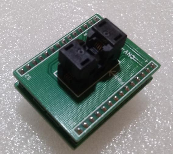 Socket Adaptador Msop8 Ssop8 Para Dip8 Pitch 0,65mm