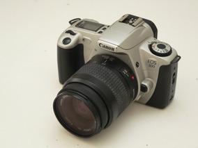 Câmera Analógica Canon Eos300 Com Lente 35-80mm