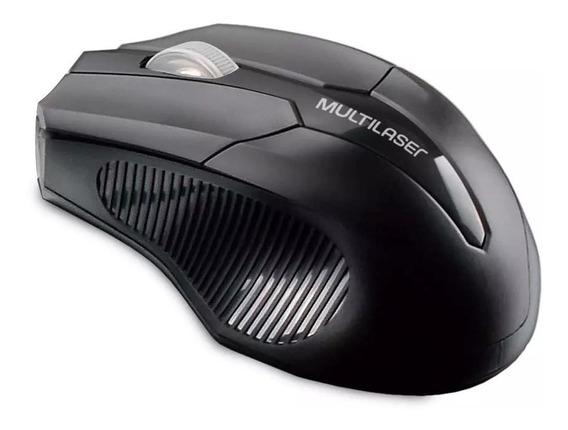 Mouse Sem Fio Multilaser Wireless Original 1600dpi Mo264 +nf