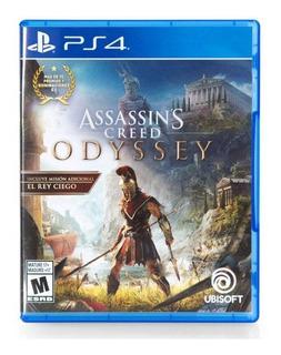 Assassins Creed Odyssey Ps4 (sellado) Envíos Todo Chile