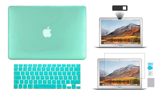 Kit Carcasa Case Español 4 En 1 Macbook Air Pro Retina Touch