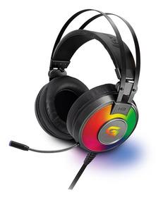 Fone Ouvido Headset Gamer Gaming Fortrek G Pro Led Rgb H3 P2