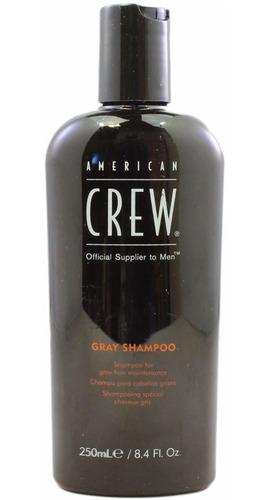 Shampoo Cabello Con Canas Gray Shampoo American Crew Men