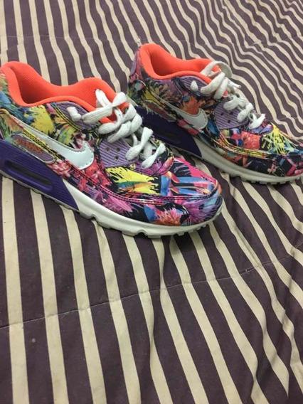 Zapatillas Nike Air Max Colores Nr 36 Sin Uso! Únicas!