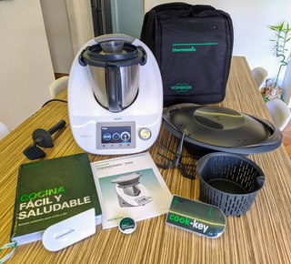 Thermomix Tm5. Cook-key + Bolso + 2 Clases. Agente Oficial