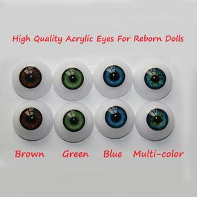 6 Pares Olhos Importados Para Bebes Reborn 20 22