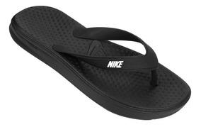 Chinelo Nike Solay Thong Masculino - Preto E Branco