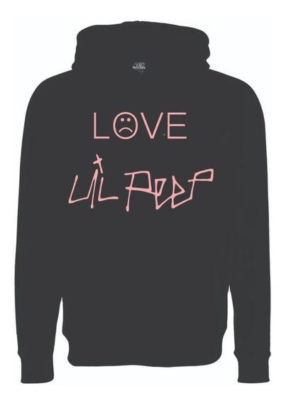 Sudadera Love Lil Peep Trap Con Gorro Hombre Mujer