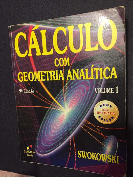 Livro Calculo Com Geometria Analítica(usado/ótimo Estado)