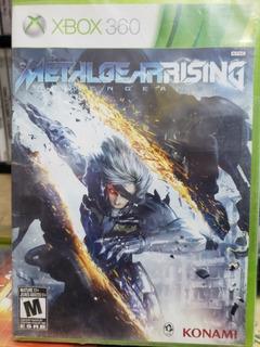 Metalgear Rising Xbox 360 Nuevo ---------------------mr.game