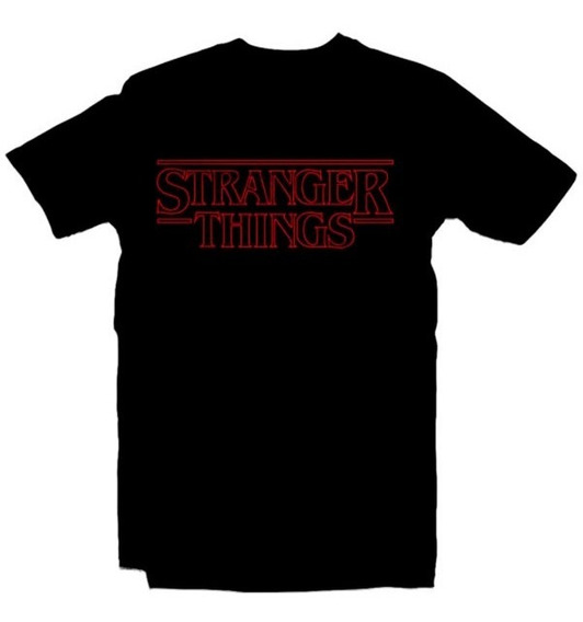 Playeras Stranger Things - 18 Modelos Disponibles Envio Expr