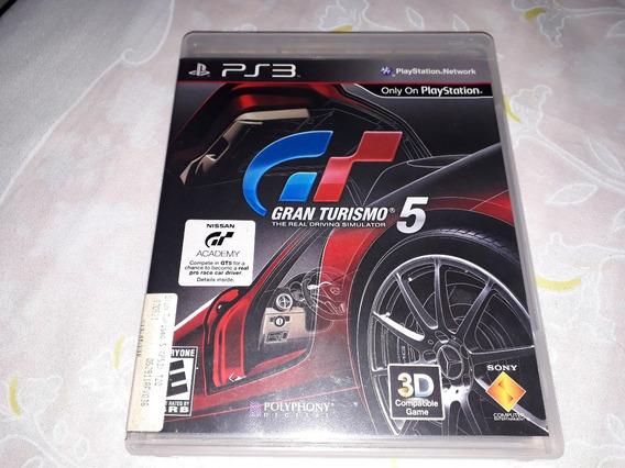 Gran Turismo 5 Black Label Ps3 Fisica