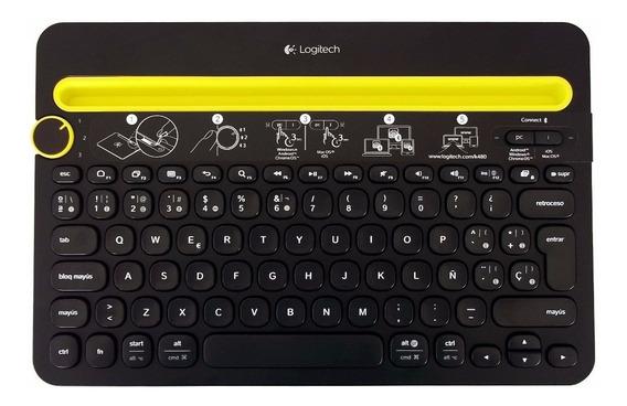 Teclado Logitech Case K480 Para Tablet Bluetooth Smarphone