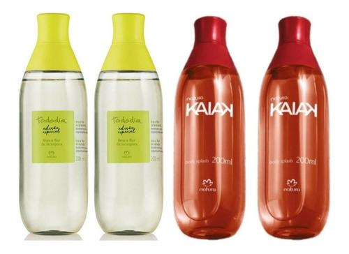 2 Spray Kaiak Clásica + 2 Spray Lima Y Flor Naranja Natura
