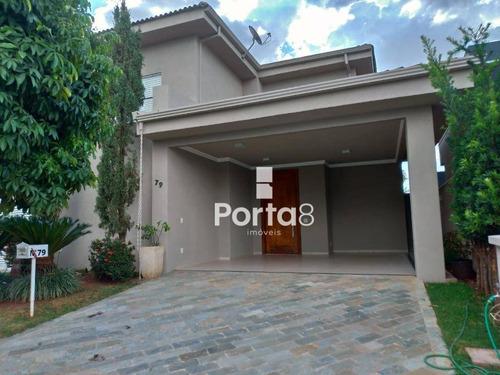 Imagem 1 de 25 de Casa À Venda, 344 M² Por R$ 1.500.000,00 - Condomínio Recanto Do Lago - São José Do Rio Preto/sp - Ca2920