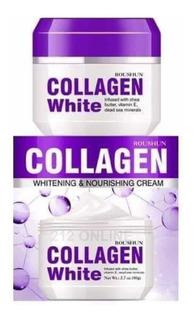 Roushun Crema Blanqueadora Colágeno + Vitamina E Y Karité