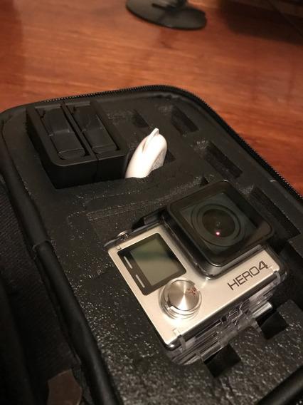 Câmera Gopro 4 Hero Black Completa Baixou O Preço