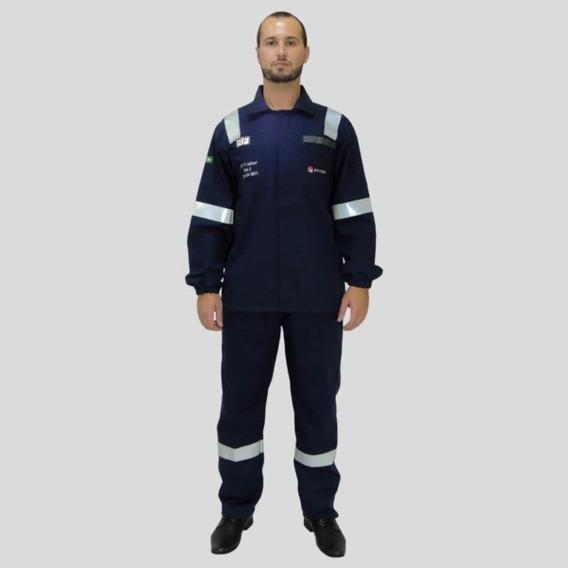 2cj Roupas Anti-chamas-uniformes Fr Nr10 - Atpv 11 Cal/cm2