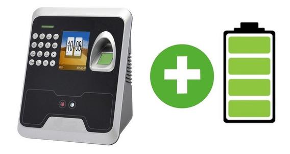 Terminal Control De Personal Facial Huella Digital Pin + Ups