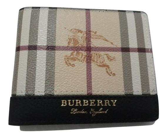 Carteira Masculina Burberry Couro Promoção Lançamento