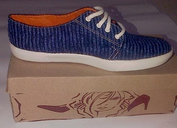 Zapatos De Dama Tipo Vans Talla 37