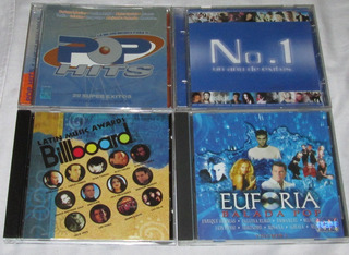 Lote De 4 Discos Cd. Thalia, Paulina, Kabah, Ov7, Lucero