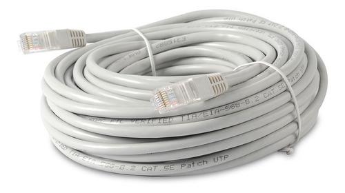 Imagen 1 de 4 de Cable De Red Lan Ethernet 20m Utp Rj-45 Internet Pc Consola