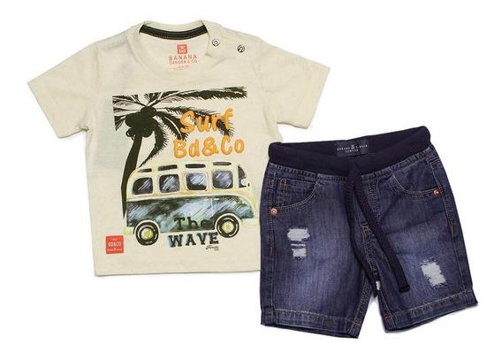 Conjunto Infantil Masculino Kombi Surf Wave