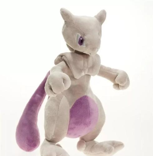 Pokemon Mewtwo Peluche Felpa 25 Cm Local Establecido