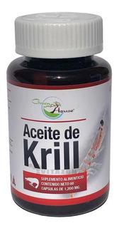 Aceite De Krill 60 Cápsulas De 1.2 Grs Green House