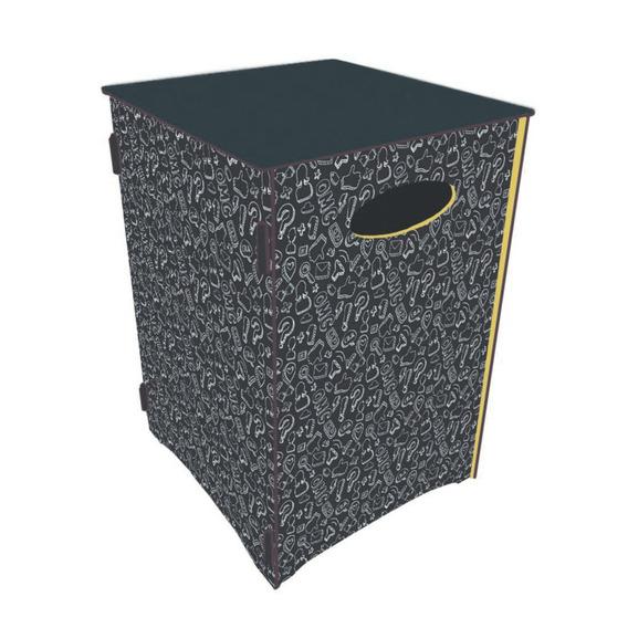 Banco Baú Organizador Modelo Giz - Cia Laser