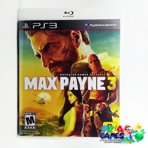 Max Payne 3 Ps3 Midia Fisica *usado*