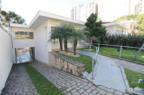 Casa À Venda, 373 M² Por R$ 2.150.000,00 - Champagnat - Curitiba/pr - Ca0035