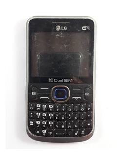 Celular LG C397 Original - Sucata Não Liga - Com Defeitos