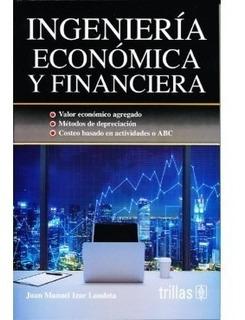 Libro Ingeniería Económica Y Financiera Trillas