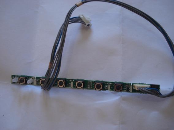 Placa Teclado Monitor Lg W1642ct, Usada