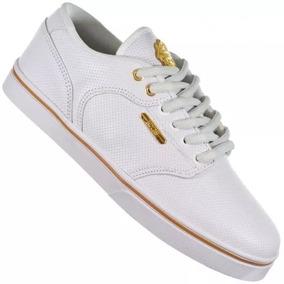 Tênis Hocks Montreal Branco White Gold
