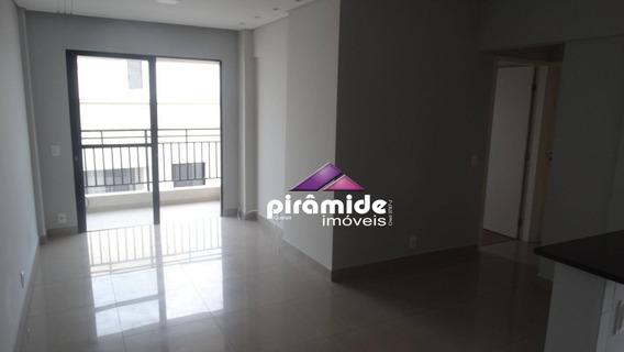 Apartamento Com 2 Dormitórios Para Alugar, 62 M² Por R$ 1.100,00/mês - Jardim América - São José Dos Campos/sp - Ap7310