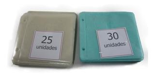 Folio Dvd Cd Para Carpeta 119 Unidades Color Unicos Disponib