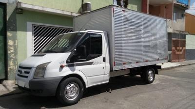 Ford Transit 2.4 2p 2011 - Nova - Baú De Aluminio