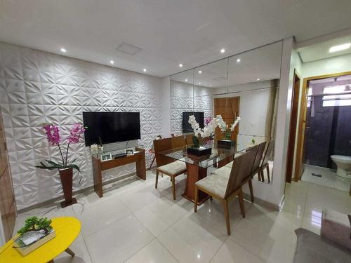 Apartamento Com 2 Quartos Para Comprar No Palmares Em Belo Horizonte/mg - 16194