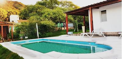 Casa Con Pileta Villa Carlos Paz Diciembre $2100