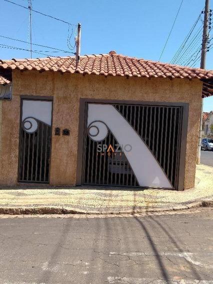 Casa Residencial À Venda, Vila Paulista, Rio Claro. - Ca0139