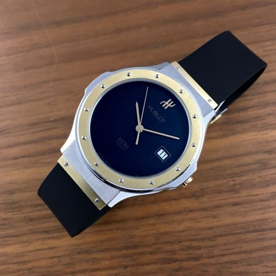 Reloj Hublot Plateado Geneve